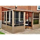 patio mate 10 panel screen enclosure 09322 patio mate 10 panel screen enclosure 09165 brown