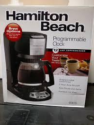 Hamilton Beach Coffee Maker New In Box 15