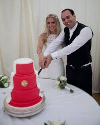 Another Great Manutd Wedding Cake Chocolate Peanut ButterManchester United CakeRustic