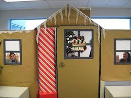 cool christmas cubicle decorating ideas home design and