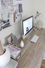 Home Office Space Design Custom Decor D Wooden Desk Rustic