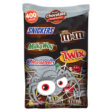 Snickers Halloween Commercial 2015 Pumpkin by Amazon Com Mars Chocolate Minis Size Candy Variety Mix 40 Ounce
