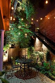 Landscape lighting ideas exterior traditional with outdoor