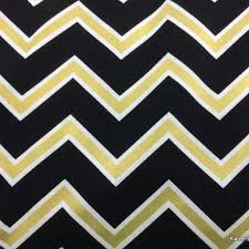 Gold And White Chevron Curtains by Artfire Markets