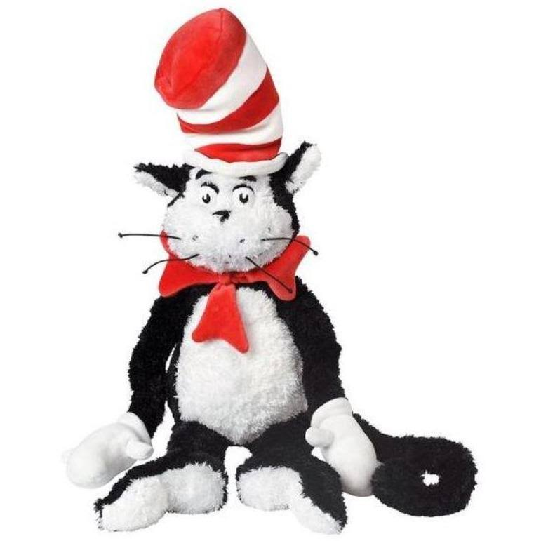 Manhattan Toy Dr. Seuss The Cat in the Hat Soft Plush Toy - 27""