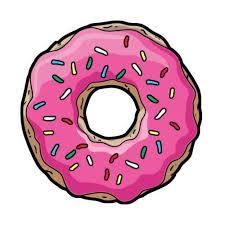 Doughnut Clipart Donut Printable Donuts Cute Jpg Freeuse Stock