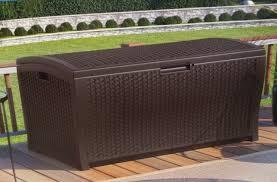 suncast resin wicker deck box assembly instructions home design