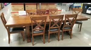 Costco! Bayside Furnishings 9 PC Dining Set! $699!!! 9 Piece Ding Room Set Costco House Bolton Intended For 6 Sets Canada Cheap Leather Chairs Find Cove Bay Clearance Patio Small Depot Hampton Chair Pike Main 5 Pc Counter Height W Saddle Table Lovely Universal Pin By Annora On Round End Table Outdoor Tables Bayside Furnishings 699 Kitchen Fniture Attached Tablecloth Drawers Home Interior Design