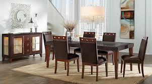 sofia vergara savona chocolate 5 pc rectangle dining room dining