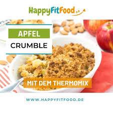 apfel crumble thermomix rezept