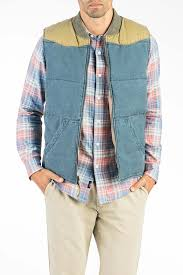 western vest faded navy khaki u2013 faherty brand