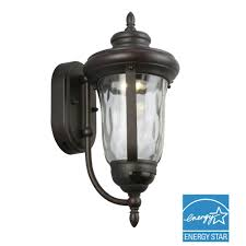 motion activated outdoor wall light and shop secure home 16 5 in h