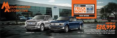 Mountaineer Automotive | Ford Dealership In Beckley WV Ford Says Electric Vehicles Will Overtake Gas In 15 Years Announces Tuscany Trucks Mckinney Bob Tomes Where Are Ford Made Lovely Black Mamba American Force Wheels 7 Best Truck Engines Ever Fordtrucks 2018 F150 27l Ecoboost V6 4x2 Supercrew Test Review Car 2019 Harleydavidson Truck On Display This Week New Ranger Midsize Pickup Back The Usa Fall 2017 F250 Super Duty Cadian Auto Confirms It Stop All Production After Supplier Fire Ops Special Edition Custom Orders Cars America Falls Off Latest List Toyota Wins Sunrise Fl Dealer Weson Hollywood Miami