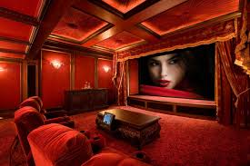 Home Theater Painting Ideas Traditional With Design Screening Room Custom