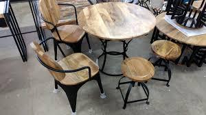 esstisch küchentisch esszimmer tisch massiv holz design rund ø 90 cm modern