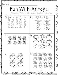 Halloween Math Multiplication Worksheets by 258 Best 2nd Grade Math Images On Pinterest Creative And