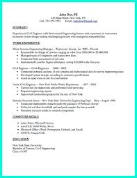 There Are So Many Civil Engineering Resume Samples You Can Download One Of Good And Effective Will Mention Some Important Th