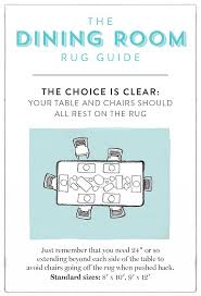 Rug Guide A Room By To Sizes One Kings Lane With Under Dining Table Size Inspirations 14