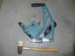 Hardwood Floor Nailer Harbor Freight by Hardwood Flooring Flooring Nailer And Rubber Mallet Powernail 45r