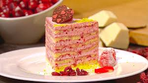 wir in bayern rezept himbeer cranberry torte