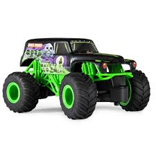 100 Monster Truck Remote Control Jam 124 Grave Digger Bunny Box Singapore