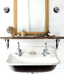 Trough Sink With Two Faucets by Trough Sink For Bathroomwhite Bathroom With Trough Sink For Two