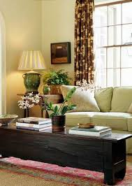 Living Room Decorating With House Plants