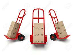 Three Warehouse Hand Trucks With Cardboard Boxes Isolated On.. Stock ... Milwaukee Hand Trucks Heavyduty Farm Ranch Truck Heavy Duty Alinum Buy Product On Alibacom Pvi Products Long Pallet 540x1800 Forks And Pump Dualpurpose Hand Trucks Cap Lbs 600 Wheel Type 10 Full Sco 3 In 1 Alinium Sack Parrs Workplace Equipment Steel 2 In From Harper Loop Handle Hayneedle 8 Best 2016 Youtube 300 Lb Capacity With Flatfree Wheels Dual Safety