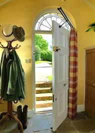 Front Door Sidelight Curtain Rods by Door Curtain Rod U0026 Front Door Curtain Rod Front Door Side Window