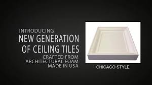 Ceilume Coffered Ceiling Tiles by Coffered Ceiling Tiles Chicago Style Youtube