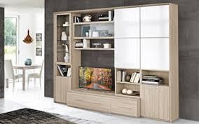 wand wohnzimmer effekt ulme weiß glänzend wand esszimmer wohnzimmer mit vitrine links cm 296 x 58 x 230h