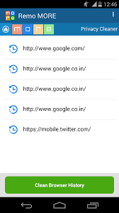 Clear Browser History From Sony Xperia