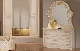 klassische schlafzimmer kommode creme