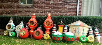 Large Vintage Christmas Ornaments