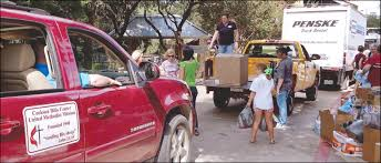 100 United Truck Rental Cookson Hills Family Responds To Request For Specific Supplies