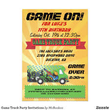 Game Truck Party Invitations | Party Invitations And Birthdays Video Game Party Invitations Gangcraftnet Invitation On K1069 The Polka Dot Press Monster Truck Birthday Ideas All Wording For Save Gamers Fun Birthdays Planning A 13yr Old Boys Todays Pitfire Pizza Make One Amazing Discount Unique Dump Festooning And Printable Orderecigsjuiceinfo Star Wars Signs New Designs Invitations Fancy Football