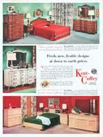 Kent Coffey Blonde Dresser by Kent Coffey Lafayette Bedroom 1954 Ad Picture Kent Coffey