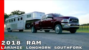 2018 Ram Laramie Longhorn Southfork Truck - YouTube 2018 Ram Trucks Laramie Longhorn Southfork Limited Edition Best 2015 1500 On Quad Truck Front View On Cars Unveils New Color For 2017 Medium Duty Work 2011 Dodge Special Review Top Speed Drive 2016 Ram 2500 4x4 By Carl Malek Cadian Auto First 2014 Ecodiesel Goes 060 Mph New 4wd Crw 57 Laramie Crew Cab Short Bed V10 Magnum Slt Buy Smart And Sales Dodge 3500 Dually Truck On 26 Wheels Big Aftermarket Parts My Favorite 67l Mega Cab Trucks Cars And