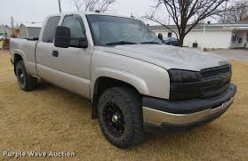 100 2005 Chevy Truck For Sale Chevrolet Silverado 1500 Ext Cab Pickup Truck Item D