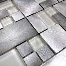 carrelage cuisine mosaique mosaique aluminium carrelage cuisine salle de bain aspen 1m2