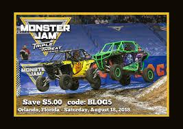 100 Monster Truck Show Atlanta Jam Triple Threat Series Orlando Save 5 With Code BLOG5