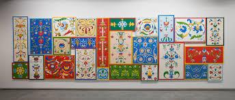 100 Decorated Wall By Elizabeth Pulie MCA Australia