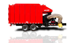 100 Leaf Vacuum Truck Collector PacMac Refuse Recycling Equipment