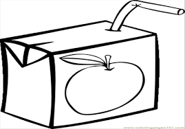 black and white 5 Apple My Eye Picture Juice Clip Art