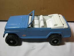 100 Vintage Tonka Truck Blue Jeepster Pressed Steel