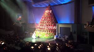 Bellevue Baptist Church Singing Christmas Tree Youtube by Singing Christmas Tree Broadway Church Vancouver Youtube