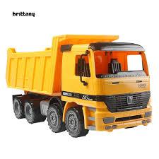 100 Kids Dump Truck BriSimulation Big Friction Power Construction Car Model Toy Gift