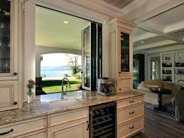Kitchen Pass Through Window To Patio Love The