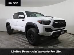 100 Manual Transmission Truck PreOwned 2017 Toyota Tacoma TRD Pro Double Cab