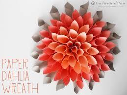 DIY Paper Flowers Tutorial 4